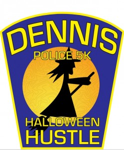 Dennis Police Halloween Hustle Badge